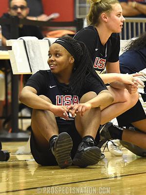Sarah Andrews USA Basketball